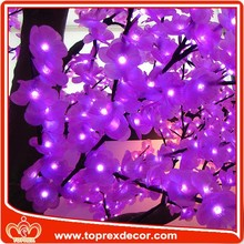 2015 pink artificial outdoor cherry blossom tree for wedding decoration