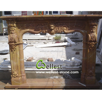 fireplace surrounds natural marble fireplace fireplace frame