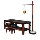 luxurious panchakarma massage wooden table/message bed