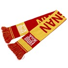 Custom Knitted Scarf Jacquard Custom Football Scarf Fan Scarf