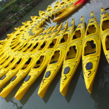 New design Professional lower price plastic fishing kayak