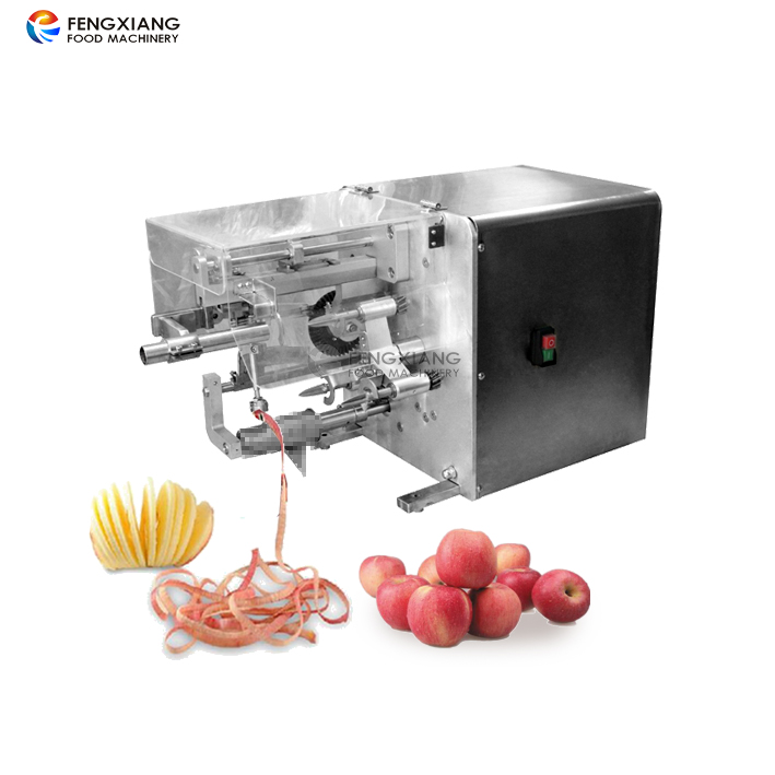 Hot Sale Automatic <strong>Apple</strong> Skin Peeling Coring <strong>Apple</strong> Ring Slicing Cutting Machine