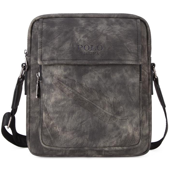 큐나 POLO 2018 새 Round 모양의 가죽 Men Travel Bag Black 캠핑 백 스포츠 Backpack Famous Brand 더플 Bag Men