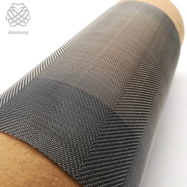 High temperature 3400 degrees tungsten wire mesh screen for vacuum furnace