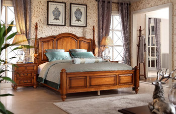 New Classic American Hand Made Wooden Canopy Bed/Bedroom Furniture  Set(MOQ=1 SET), View new classic wooden canopy bed, Bisini Product Details  from ...