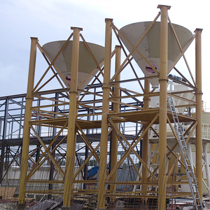 Steel bolted type long time seal grain silos prices in China