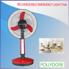 "China manufacturer cixi factory PLD-31T16 remote control 16"" rechargeable table fan"