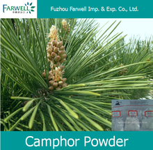 Farwell Camphor Powder, Natural BP grade 96%min CAS 464-49-3