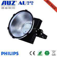 Factory warehouse industrial High quality warranty 5years IP65 black 70w LED New square fins high bay light