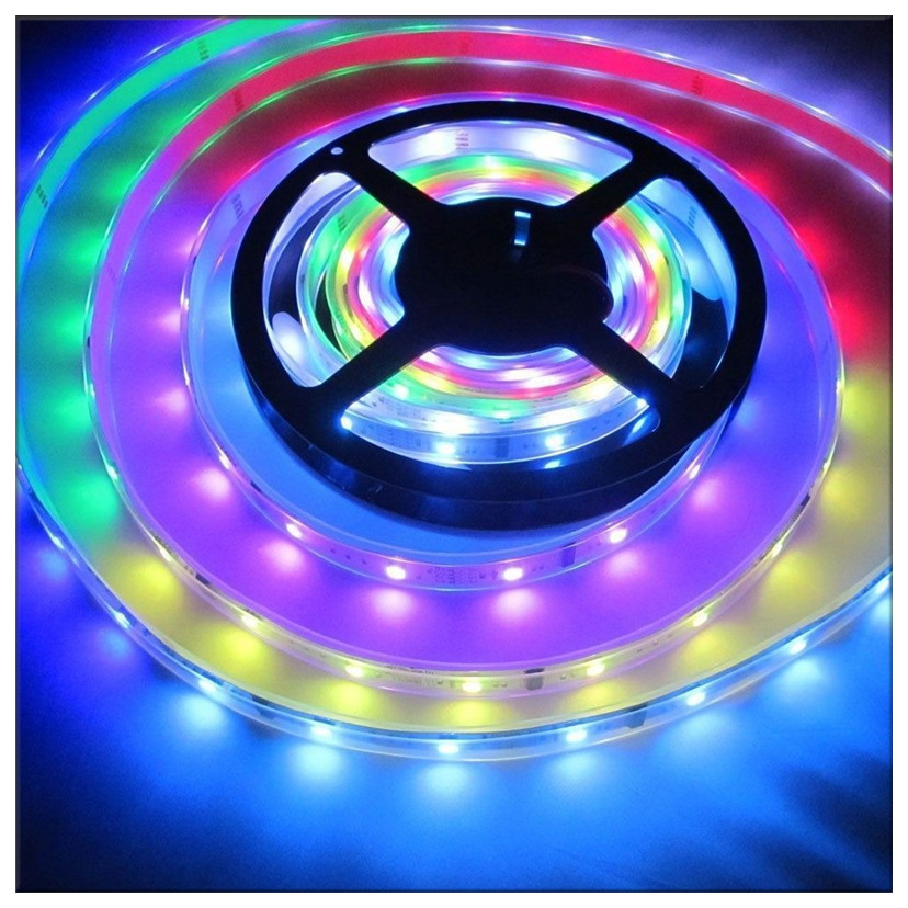 factory price led strip light 2835 60leds <strong>rgb</strong> 12v with IC