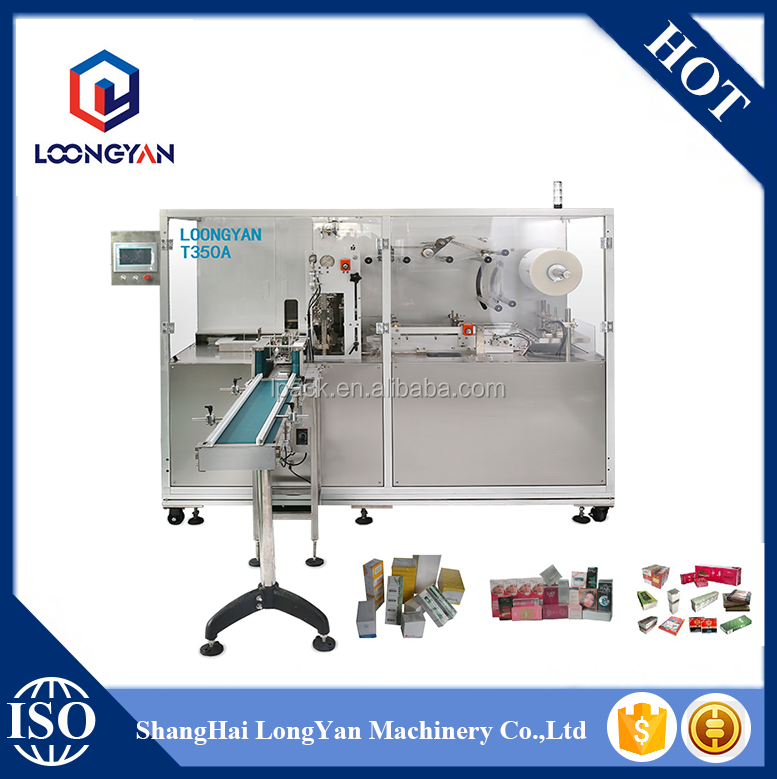 T350A Manual Overwrapping Machine Cigarettes Cellophane Wrapping Machine From Shanghai Manufacturer