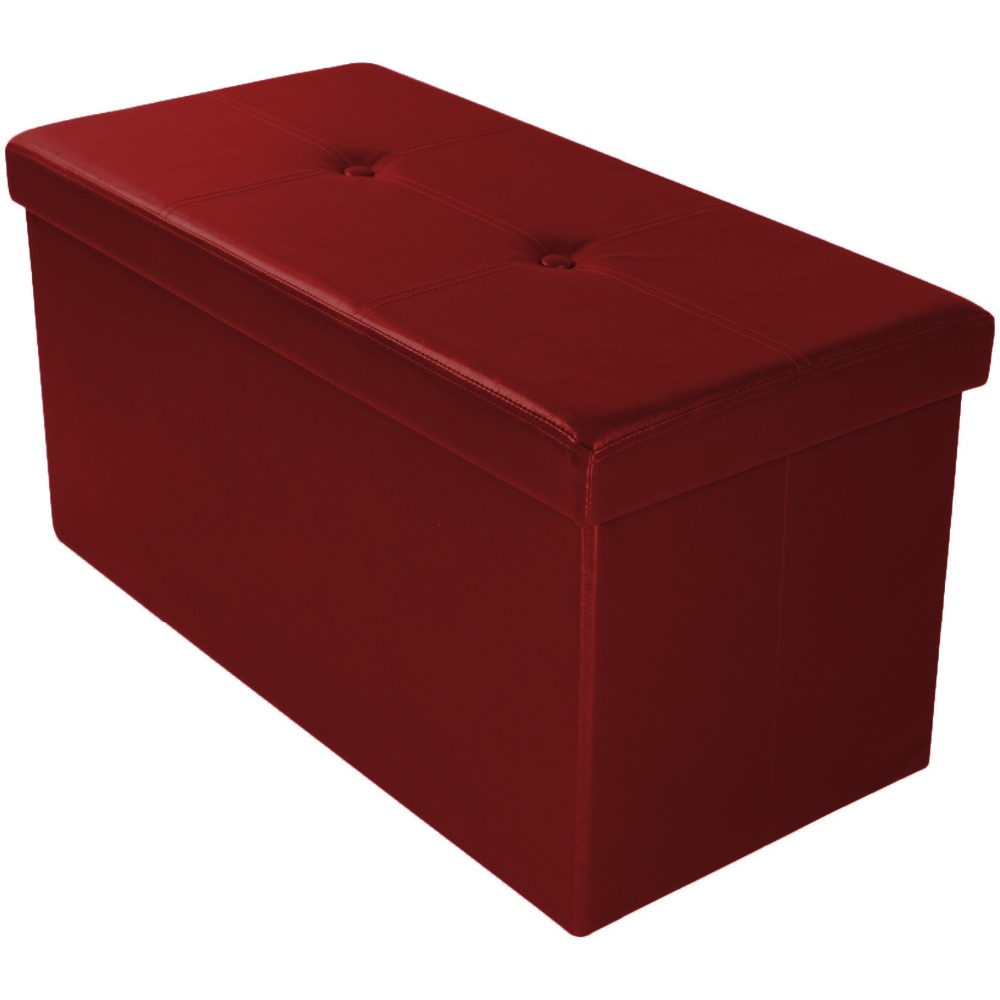 Assorted Colors Standard Foldable Storage Ottoman