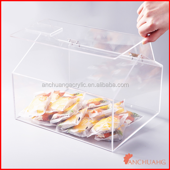 Plastic Candy Box Acrylic House Shape Buy Acrylic Candy