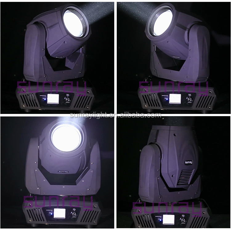 China Dmx512 16 Channels Spot Stage Dj Light 230w Sharpy 7r Beam Moving Head Light