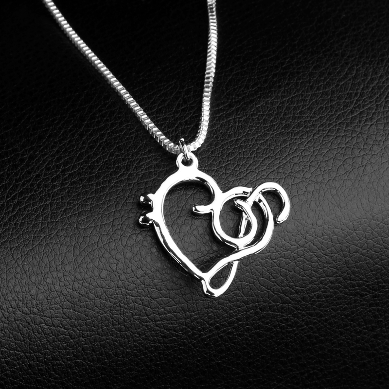 Music Note Symbol Heart Of Treble And Bass Clefs Infinity Love