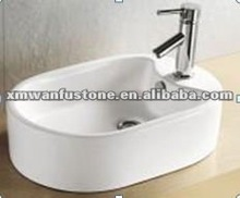 WL-5030 sanitary Above Counter Art basin design