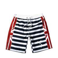 Competitive beach boardshort men striped men short Pants OEM