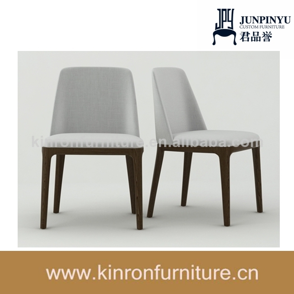 la gracia de gris silla de madera de diseño de silla de comedor ...