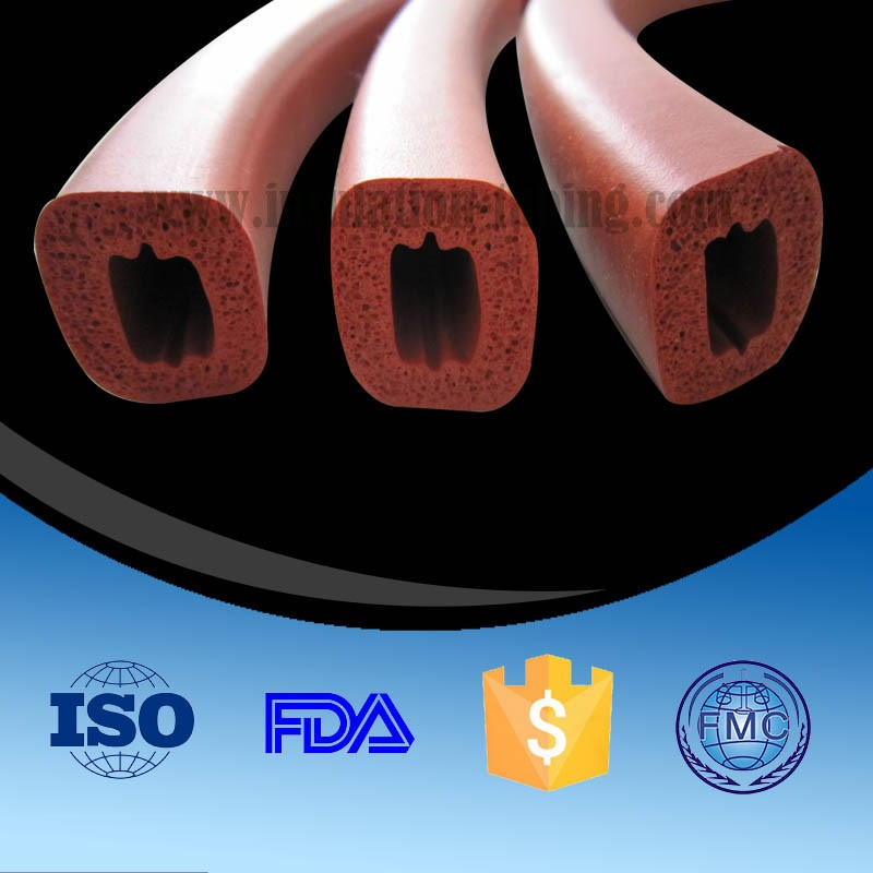 Closed Cell Silicone Sponge Tubing