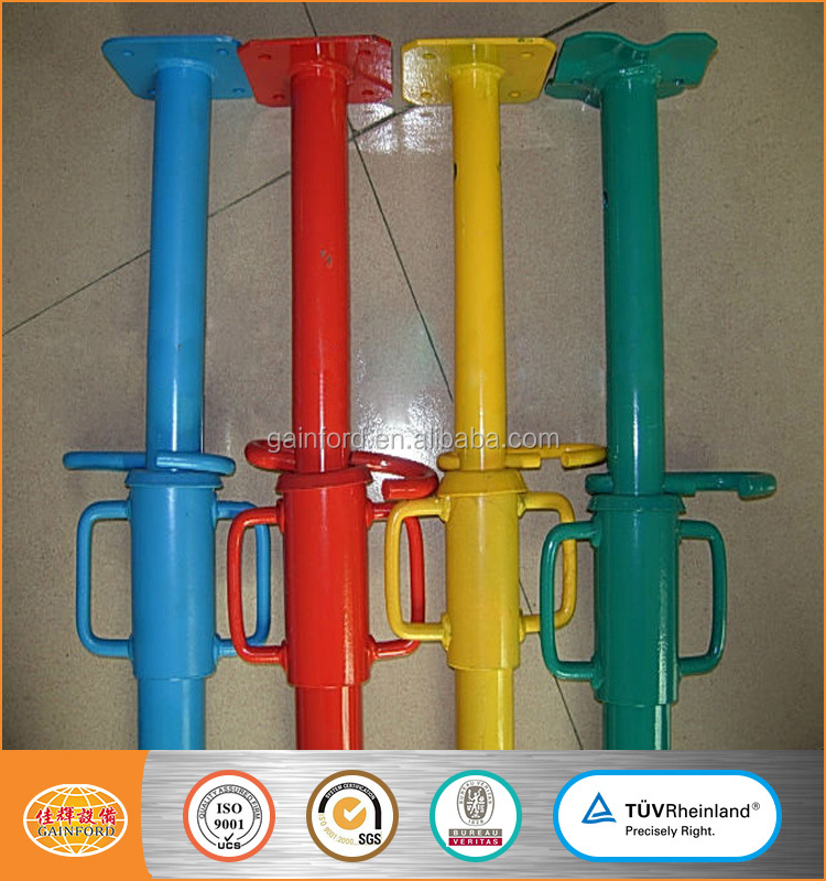 Wholesale All Types Scaffolding Shoring System Adjustable Steel Shoring Prop Price