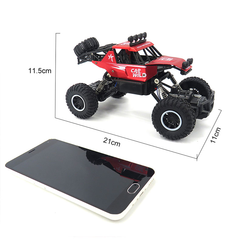 2. SL-109A_Red_Metal_Off-road_Climbing_RC_Car