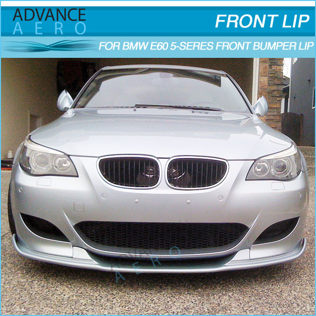 For 06-11 Bmw E60 M5 Poly Urethane Front Lip Splitter