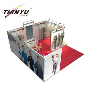 Hot sale trade show easy assembling system green recycling exhibition booth and stall