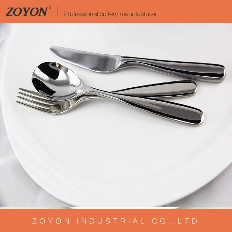High quality inexpensive stainless steel flatware/cutlery