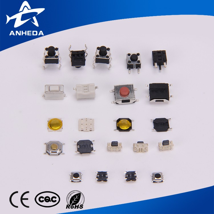 Miniature Micro Momentary Tactile Tact Touch Push Button Switch Quality Switch SPST Miniature/Mini/Micro/Small PCB