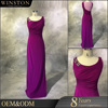 Professional China factory lilac evening dress