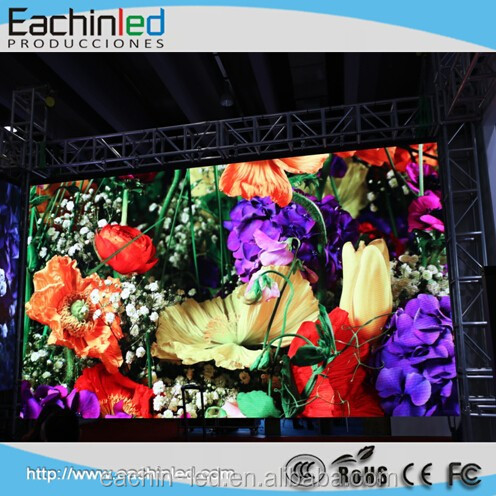 High pixel density full color smd2121 P3.9 indoor rental led Video Wall for events and concerts