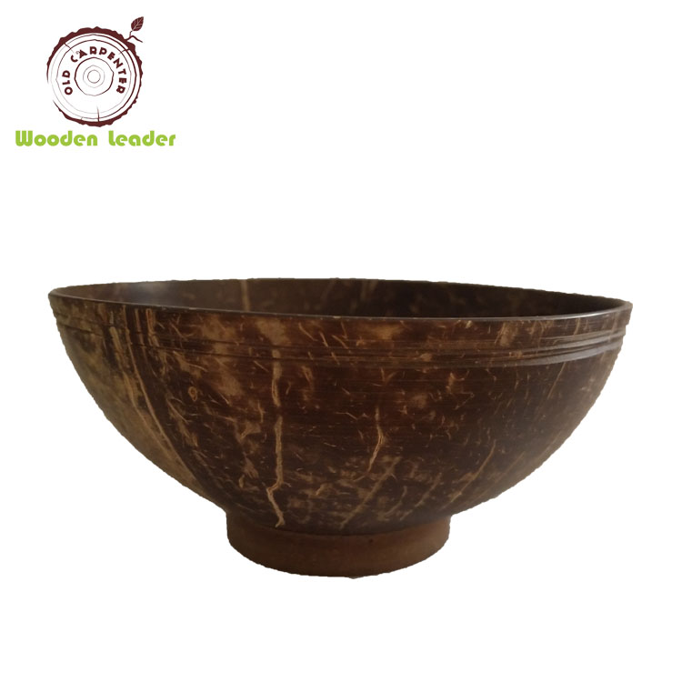 Hotselling Natural Food Coconut Bowl Spoon Set