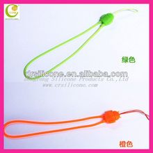 silicone phone strap / silicone phone pendant / silicone phone charm