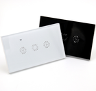 10a smart 홈 1 2 3 갱 dimmer 빛 touch switch panel 와 Ewelink 앱