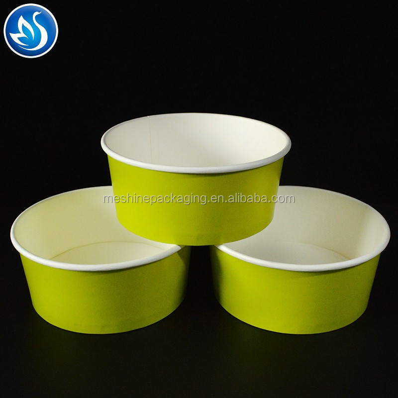 Disposable To Go Container Salad Bowl With Lid