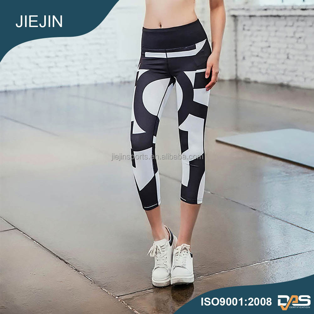 Women's Skin Tight Suit Slimming Shaperwear Custom Girls Printed Women Fitness High Quality Polyester Sexy Leggings