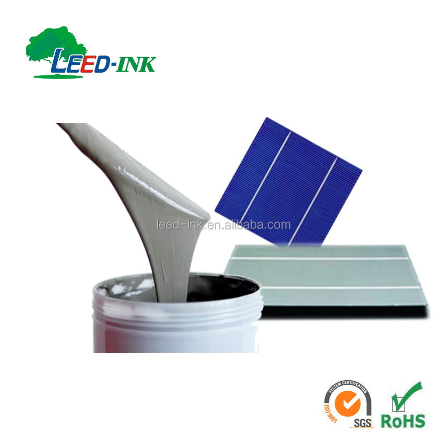 Solar Cell Aluminum Paste Manufacturers For Back Surface Field 1.24g Wet Deposit