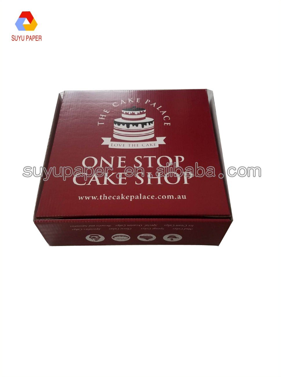 Cheap offset printing Birthday kraft Paper cake Box