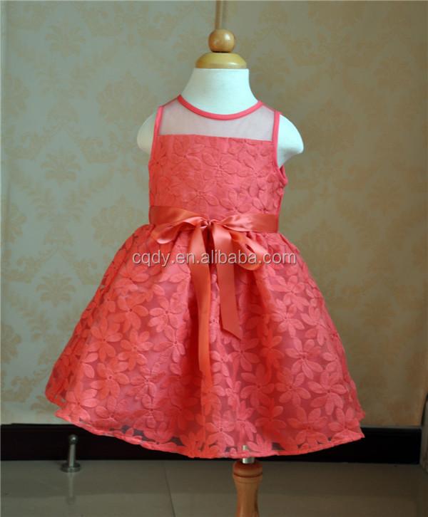 439f3ec80 2015 latest purple printed flower girls dress for birthday children ...