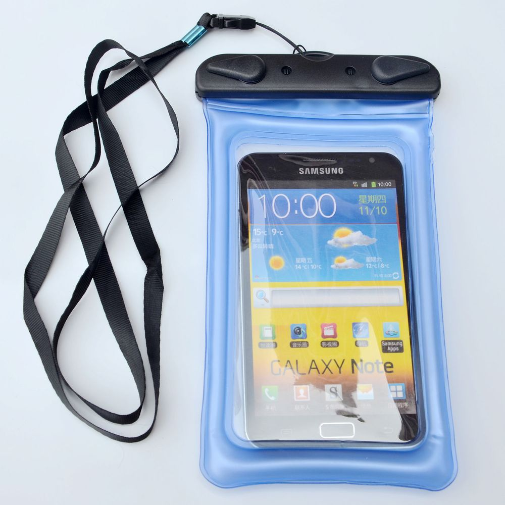 Waterproof Swimming Floating Pouch Dry Bag Case For iPhone 6s/7/Plus with Strap
