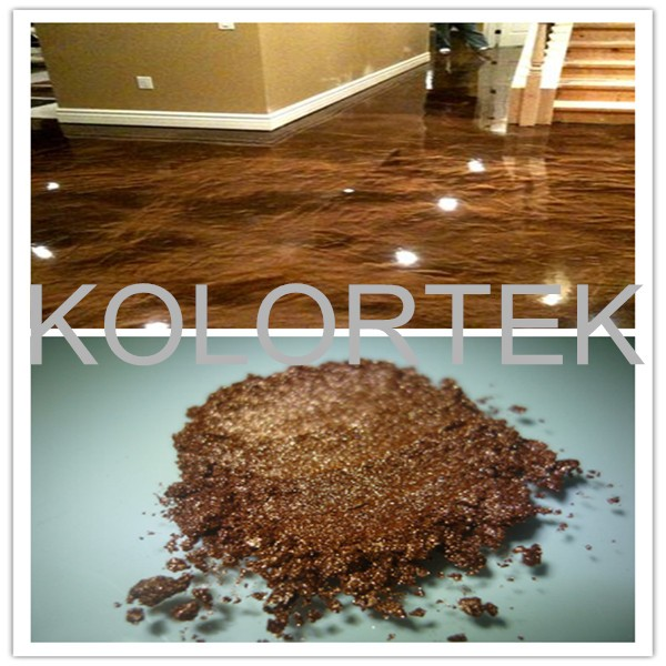 Concrete Color Powder,Metallic Pigment For Epoxy Floor Paint,Floor ...
