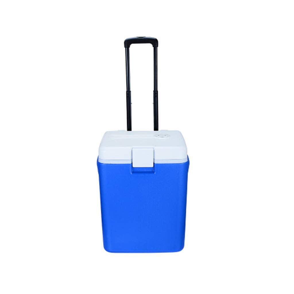 30L Outdoor Car Refrigerator With Trolley Wheel Large Capacity Electronic Hot And Cold Refrigerator