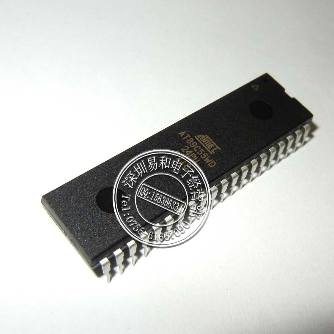 2PCS IC AT89S8252-24PI AT89S8252-24PC DIP-40 ATMEL NEW GOOD QUALITY