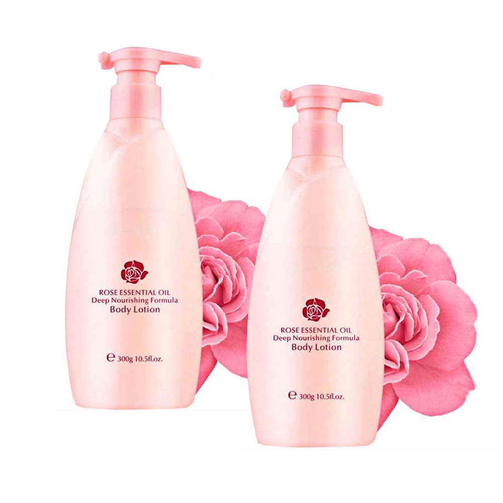 Rose beauty essential oil deep nourishing formula body lotion manufacturers