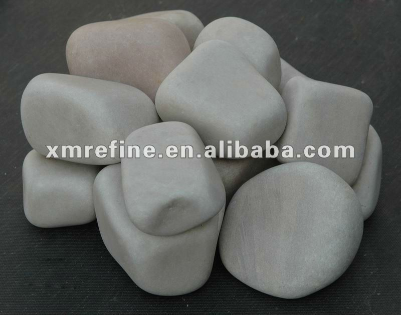 Natural flint rock stone