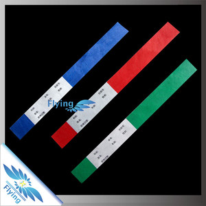 Professional wristband supplier of making tyvek paper wristbands for Dubai sales