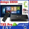 android 6.0 marshmallow tv box kodi 16.1 S905X 2G 16G TX5 Pro Enybox smart tv remote control
