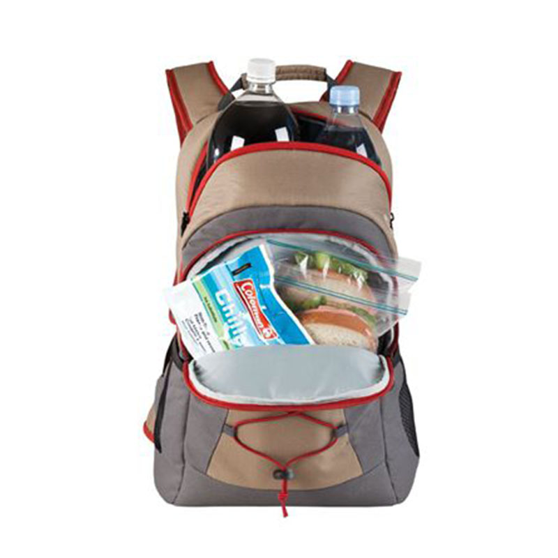 High capacity Large zippered pocket dry storage Soft Backpack Cooler