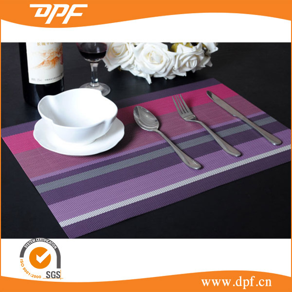 Different fabric printed or Jacquard cotton table mats