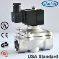 Diaphragm directly acting 2W water solenoid valve 220V AC